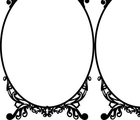 CSTEP_Ornate-Baroque-Frame-2 fabric - eicul - Spoonflower