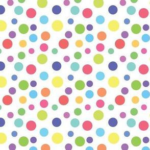 Circus Rainbow Dots