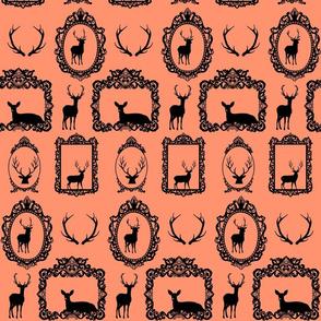 deer_Ornate-Baroque-Frame