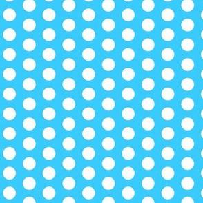 Flamingo coordinate Blue Polka dots