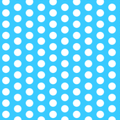 Tiffany Blue Polka dots