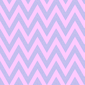 Fall Chevron baby pink and grey linen
