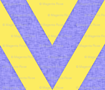 Yellow and Gray chevron / Happy