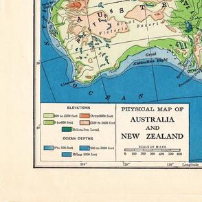 Best Map of Australia