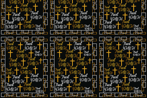 Trust_YHWH fabric by lyndiamad on Spoonflower - custom fabric