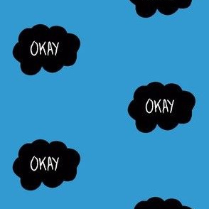 "TFIOS ""Okay"" Cloud (blue)"