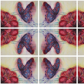 Butterfly_Red_Floral_wc_56_x_76cm