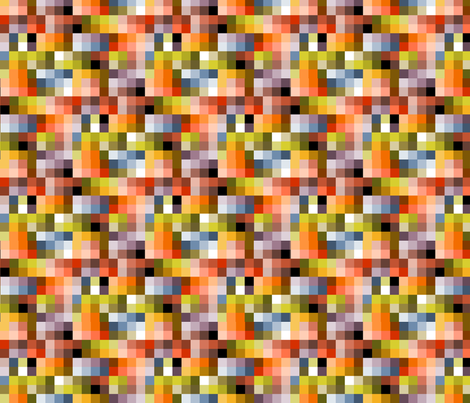 palette_plaid fabric by glimmericks on Spoonflower - custom fabric