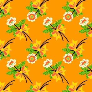 buttons'n'bows - orange