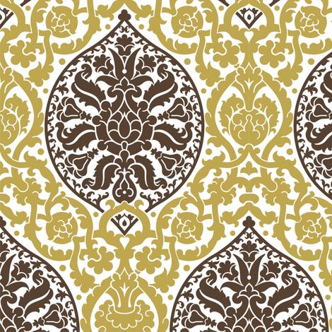 Damask 13d fabric by muhlenkott on Spoonflower - custom fabric