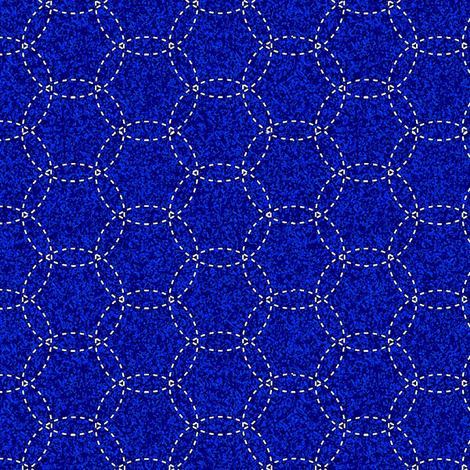 quilted midnight fabric by keweenawchris on Spoonflower - custom fabric