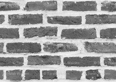 Hit A Brick Wall ~ Grey