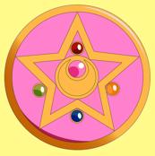 Sailor Moon Crsytal Star Brooch Pillow