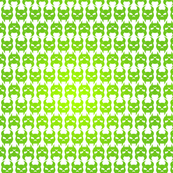 Skulldag Stripes in Gradient Green