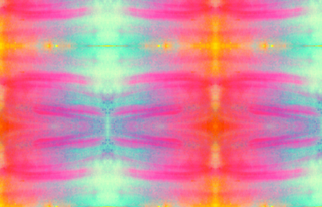 Neon watercolor fabric by daniellereneefalk on Spoonflower - custom fabric