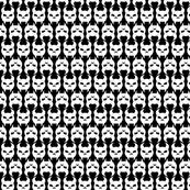 Skulldag Line Pattern - Black & White