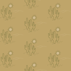Midcentury Saguaro