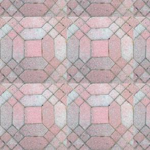 Brick cobblestone