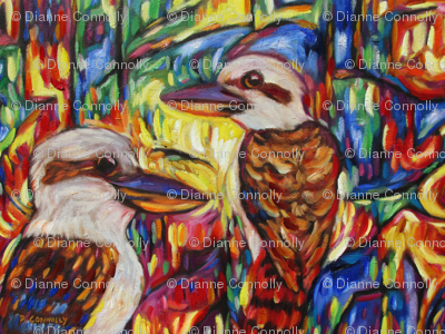 Kookaburras At Opal Canyon