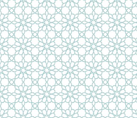 ASSILA_ blue sky 8 fabric by ginger&cardamôme on Spoonflower - custom fabric
