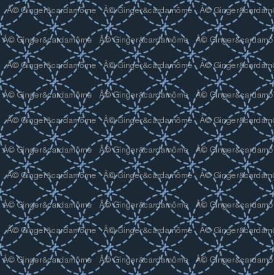 ATSURO blue indigo stitch