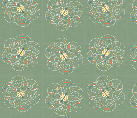 Spinners Meadow fabric by pamela_hamilton on Spoonflower - custom fabric