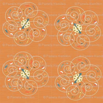 Spinners Tangerine