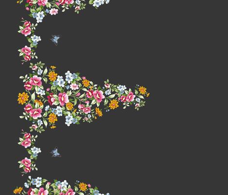 dark cinderella fabric by melinda_wolf_designs on Spoonflower - custom fabric