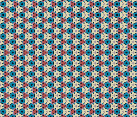 Tribal Traditions fabric by ktd on Spoonflower - custom fabric