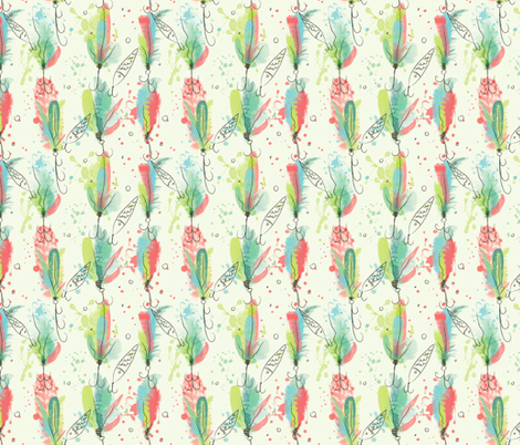 Alluring_lure fabric by olivia_henry on Spoonflower - custom fabric