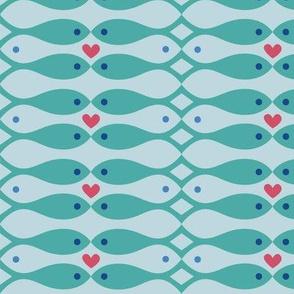 fish in love