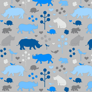 Rhinos and Friends