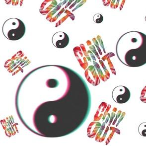 Chill Out Yin Yang Tumblr Tie Dye