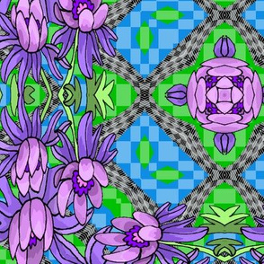 flowers_on_checkerboard_a