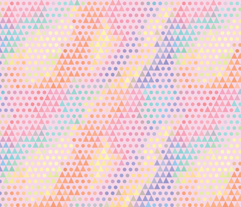 Damien Dot fabric by robynie on Spoonflower - custom fabric