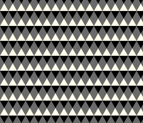 rut blackwhite fabric by luckywe on Spoonflower - custom fabric