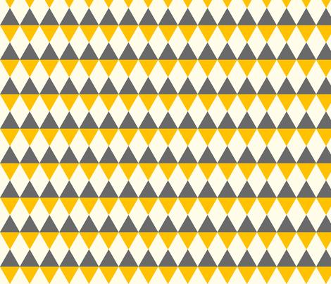 Rut yellow tree fabric by luckywe on Spoonflower - custom fabric