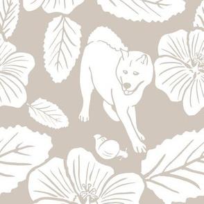 `Ilima Blossoms (taupe)