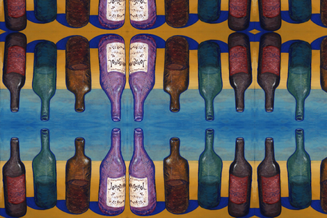 Bottles fabric by jenithea on Spoonflower - custom fabric