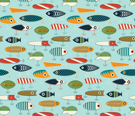 Hooked Up fabric by katerhees on Spoonflower - custom fabric