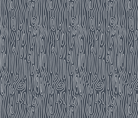 farmhouse_bark_navy_reversed fabric by holli_zollinger on Spoonflower - custom fabric