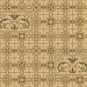 Pompeian Mosaic 1a