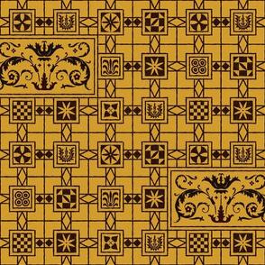 Pompeian Mosaic 1c