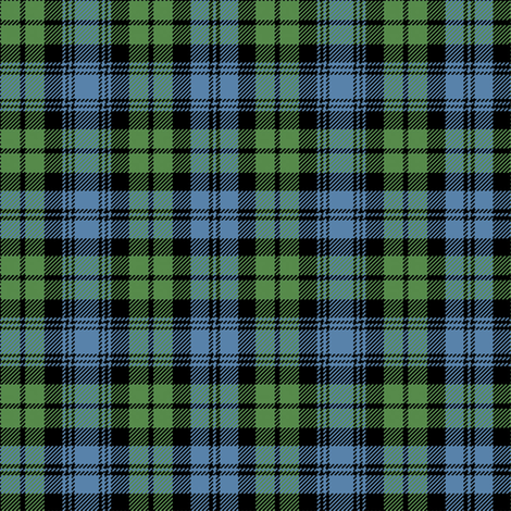 Ancient Campbell Tartan fabric by lilyoake on Spoonflower - custom fabric