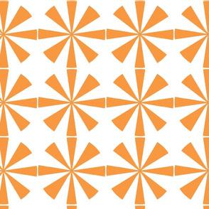 Atomic Pinwheel Orange