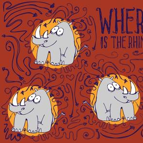 where is the rhino??