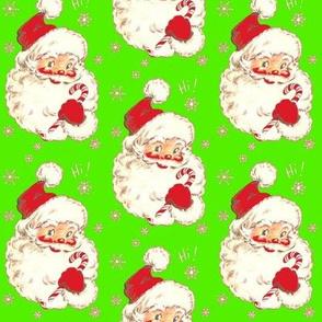 Santa on Lime! Christmas 2014