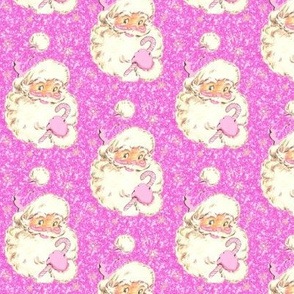 Pink Sparkle Santa Glitter Christmas! med size