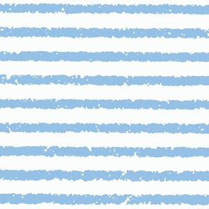 Lullaby Stripes(Blue/White)