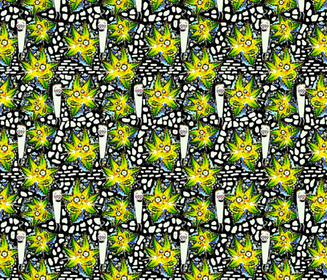 Refer Maddness fabric by whimzwhirled on Spoonflower - custom fabric